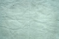 Altes blaues Papier Stockfotografie