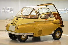 Altes BMW Isetta stockfoto