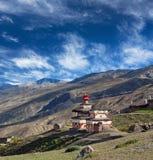 Altes Bon stupa in Dolpo, Nepal Stockfotos
