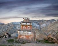 Altes Bon stupa in Dolpo, Nepal Lizenzfreie Stockfotografie