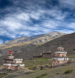 Altes Bon stupa in Dolpo, Nepal Stockbild