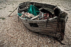Altes Boot stockfotografie