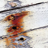 Altes Boot mit Schalenfarben-Hintergrundbeschaffenheit Lizenzfreies Stockfoto