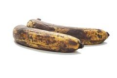 Altes Braun über gereiften Bananen Lizenzfreie Stockfotografie