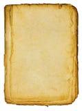 Altes braunes Papier Stockbilder