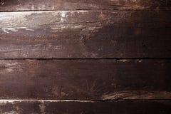 Altes, braunes, rustikales Holz von der Spitze Lizenzfreie Stockfotografie