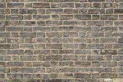 Altes brickwall Stockbild