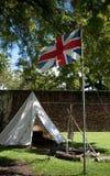 Altes britisches Fort stockfotografie