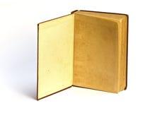 Altes Buch öffnen Gesicht zwei Stockbilder