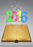 altes Buch 2016 Lizenzfreies Stockfoto
