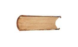 Altes Buch auf Weiß Lizenzfreies Stockbild