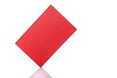 Altes Buch mit leerem Blinddeckel Studioschuß getrennt auf Weiß Lizenzfreie Stockfotografie