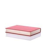 Altes Buch mit leerem Blinddeckel Studioschuß getrennt auf Weiß Stockfoto