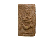 Altes Buddha-Bild Stockbilder