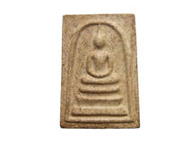Altes Buddha-Bild Stockfotografie