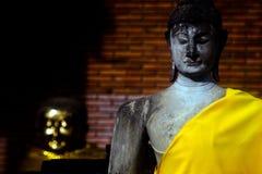 Altes Buddha-Bild Stockfotos