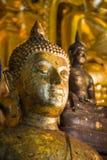 Altes Buddha-Gesicht grunge Lizenzfreie Stockfotografie
