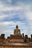 Altes Buddha-sukhothai Lizenzfreies Stockbild