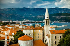 Altes Budva, Montenegro stockfotos