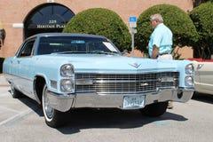 Altes Cadillac-Auto an der Autoshow Stockfoto