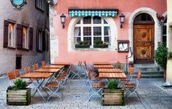 Altes Café Stockfotos