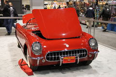 Altes Chevrolet Corvette Stockbild