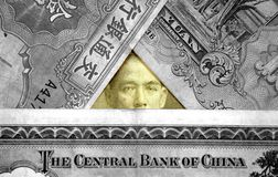 Altes chinesisches Bargeld. Stockbild