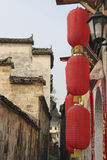 Altes chinesisches Dorf Lizenzfreie Stockfotografie
