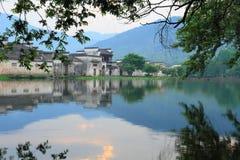 Altes chinesisches Dorf in der Südchina, hongcun Stockfotografie