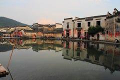 Altes chinesisches Dorf in der Südchina, hongcun Stockbilder
