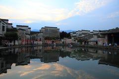 Altes chinesisches Dorf in der Südchina, hongcun Lizenzfreies Stockbild