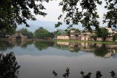 Altes chinesisches Dorf in der Südchina, hongcun Lizenzfreies Stockfoto