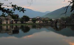 Altes chinesisches Dorf in der Südchina, hongcun Stockfoto