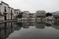 Altes chinesisches Dorf in der Südchina, hongcun Stockbild