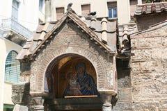 Altes churche in Athen, Griechenland Stockfotos
