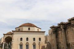Altes churche in Athen, Griechenland Stockbilder