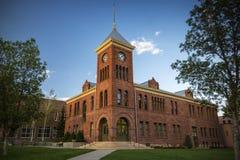 Altes Coconino County Gericht im Fahnenmast Arizona Lizenzfreie Stockfotografie