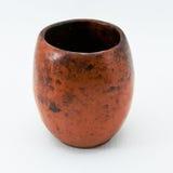 Altes Cup von der Keramik Stockbild