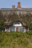 Altes dänisches Bauernhaus Stockbilder