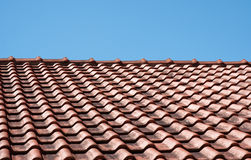 Altes Dach Stockbild
