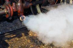 Altes Dampflokomotivedetail Stockfotografie