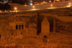 Altes Denkmal in Jerusalem Stockfotos