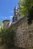 Altes deutsches Schloss Stockfoto