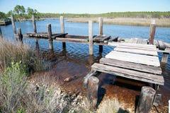 Altes Dock Stockfotos