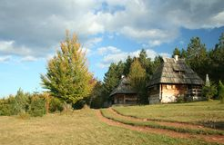 Altes Dorf Lizenzfreies Stockfoto