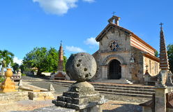 Altes Dorf Altos de Chavon Lizenzfreie Stockbilder
