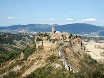 Altes Dorf Civita di Bagnoregio Lizenzfreie Stockbilder