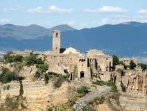Altes Dorf Civita di Bagnoregio Lizenzfreie Stockfotografie