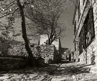 Altes Dorf Doganbey stockbilder