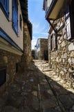 Altes Dorf Doganbey lizenzfreies stockfoto